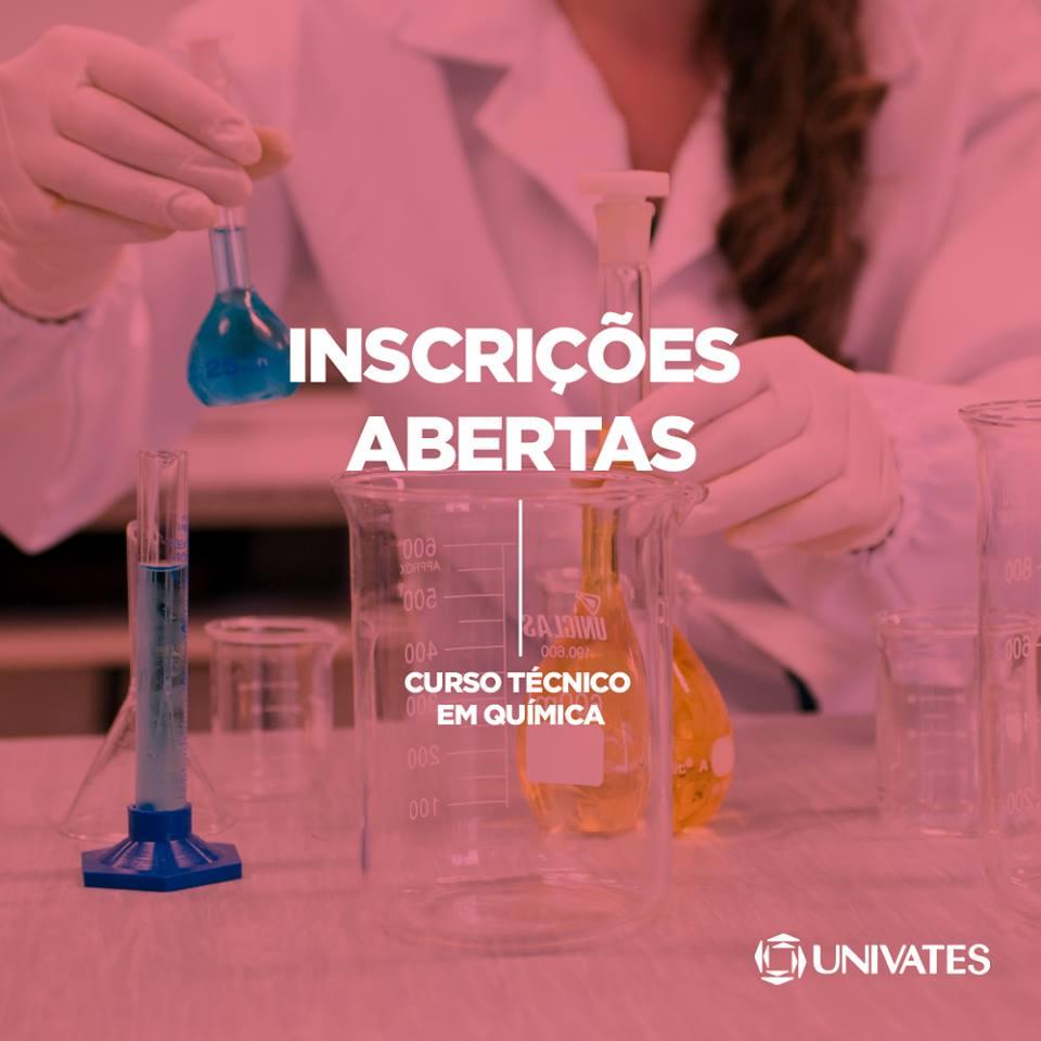CURSOS TÉCNICOS UNIVATES: inscrições abertas