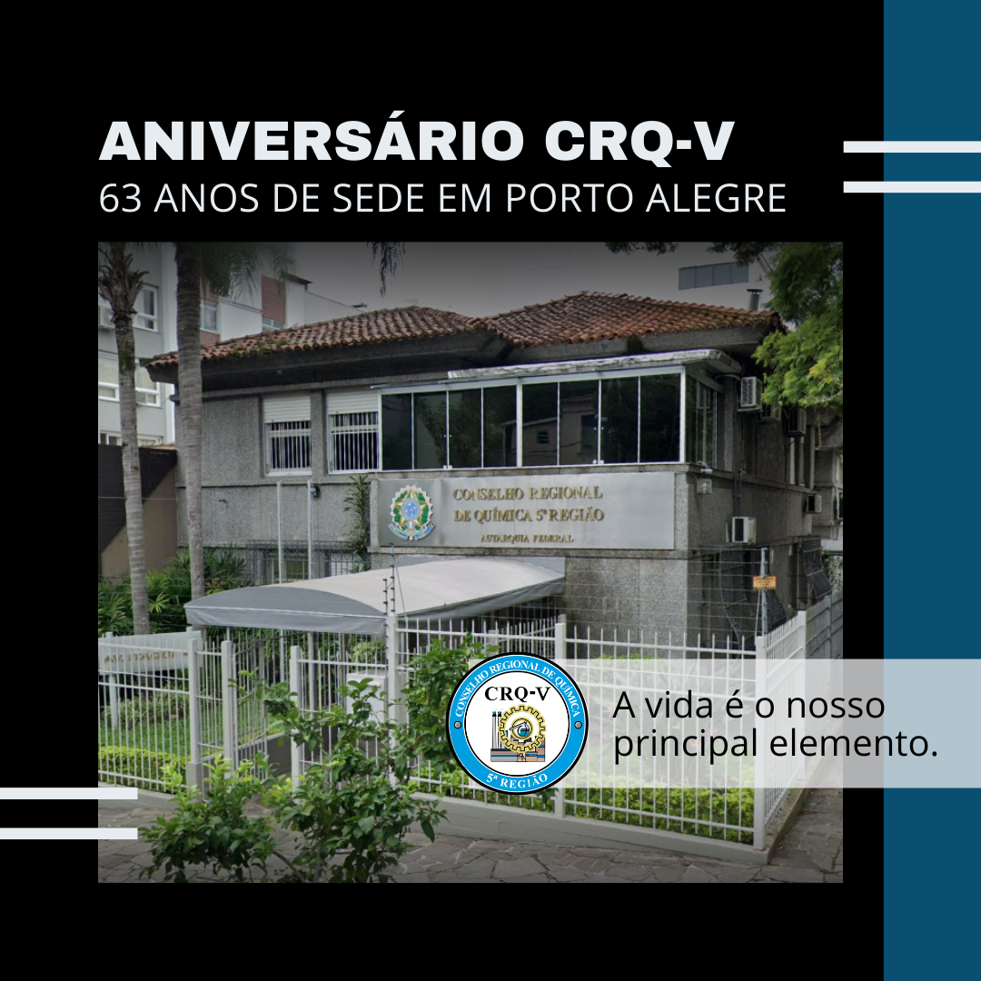 ANIVERSÁRIO CRQ-V, 63 anos de história